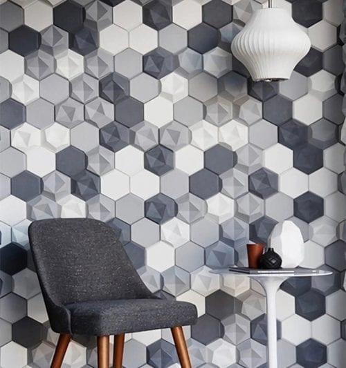 Polyester felt wall panels